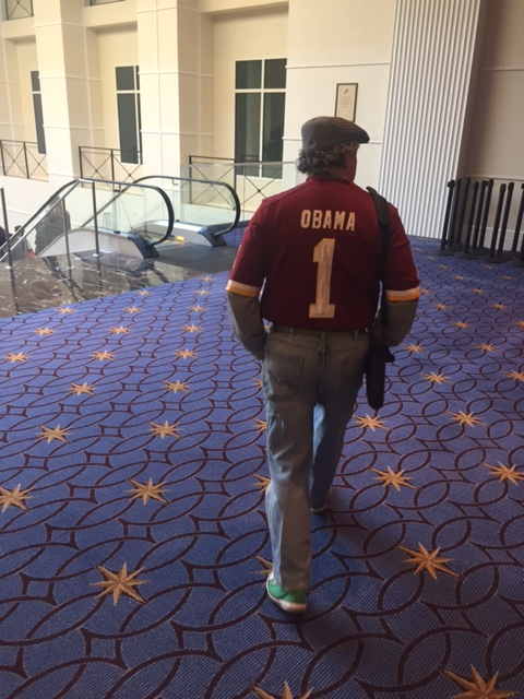 Maybe these Conservatives will be too busy discussing the Redskins' team name to notice the detail on the backside of this jersey.
