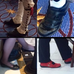 Lots of interesting shoes seen on the CPAC 2015 scene.